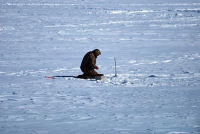 Рыбалка на морозе зимой