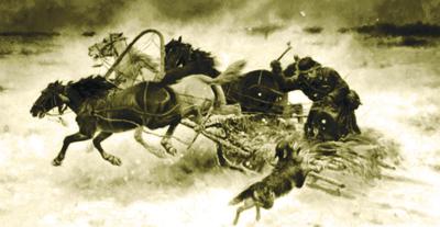 Охота на волков фото