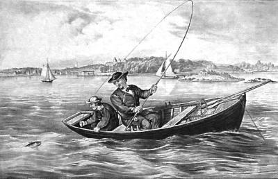 Рисунок рыбалка