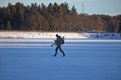 Зимняя рыбалка фото