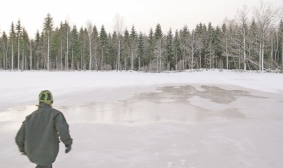 По последнему льду