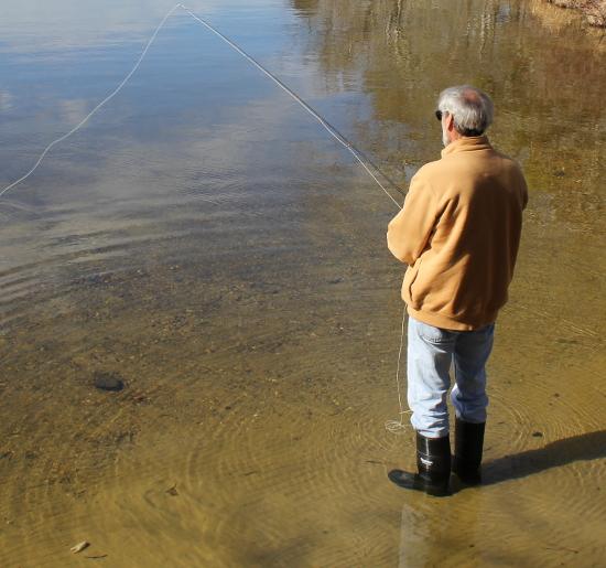 Рыбачить на муху