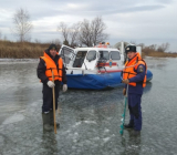 рыбаки на тонком льду