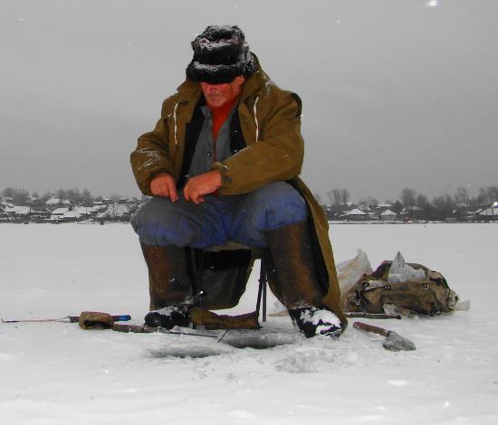 Новичок в зимней рыбалке