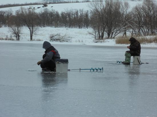 интересная зимняя рыбалка