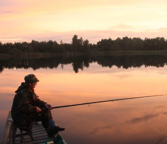 рыбная ловля на селе