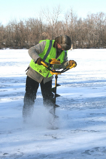 мотобур для зимней рыбалки