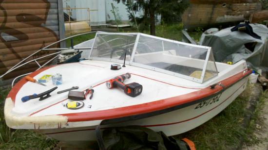 Лодка-моторка