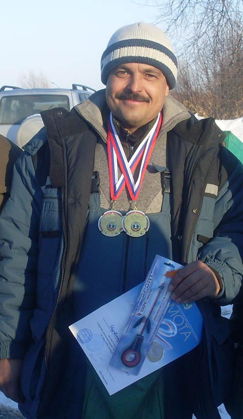 Победитель в личном зачете Андрей Червонец