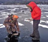 Особенности подледной рыбалки