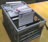 Ящик с документами