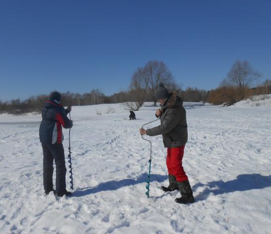 зимний лов