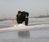 выход на тонкий лед