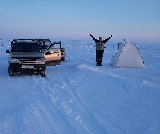 Поездка на зимнюю рыбалку