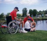 Рыбалка на инвалидных колясках