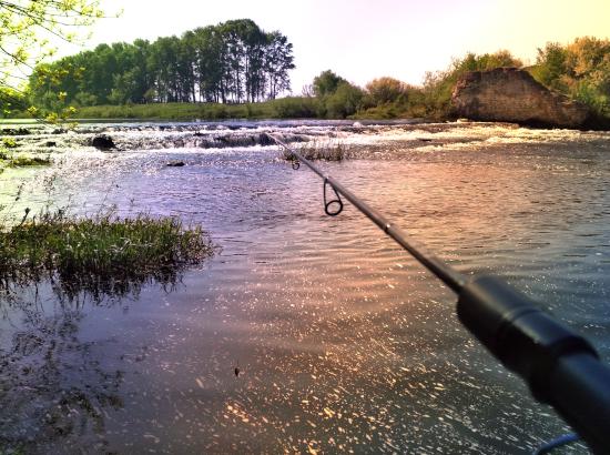 рыбалка на Олыме
