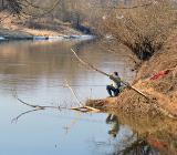 Весенний лов рыбы