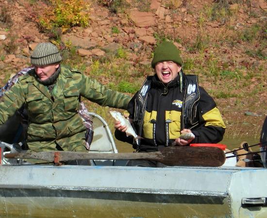 Борьба рыбы и человека