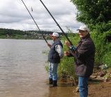 Рыбаки в Сибири