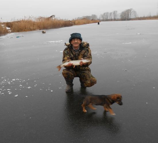 Любитель рыбной ловли