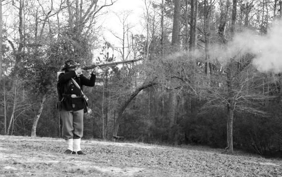 Резкость боя ружья