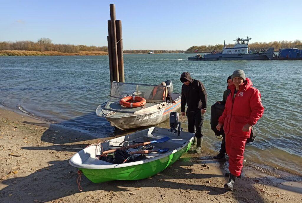 В Ростовской области спасли рыбаков