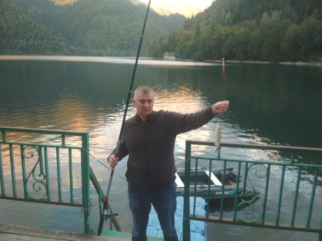 Кавказский голавль клюет… на шашлык