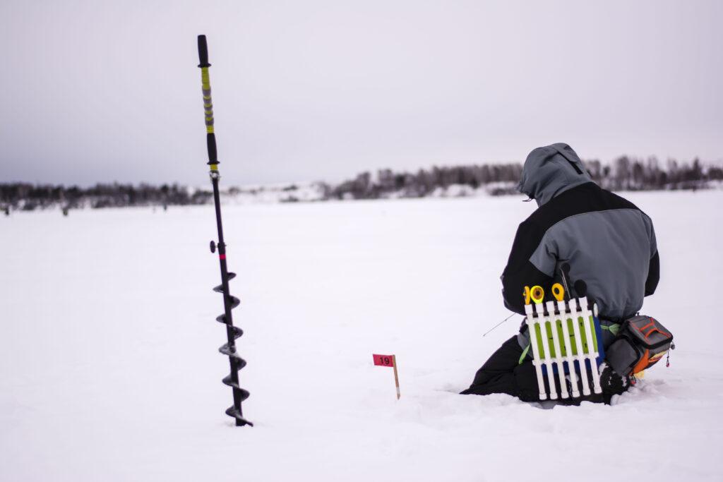 Прошел второй этап Кубка Назарово по ловле на блесну со льда