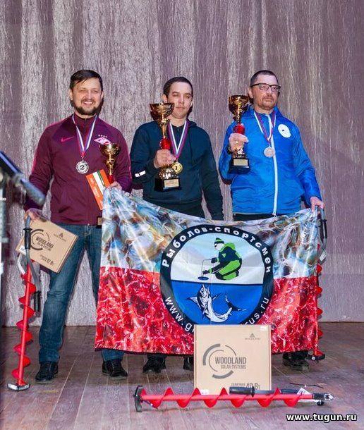 Томичи выиграли всероссийские соревнования «Золотая мормышка–2020»