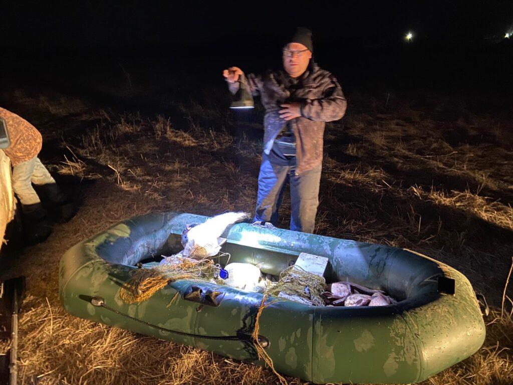 В Татарстане задержали браконьеров с сетями