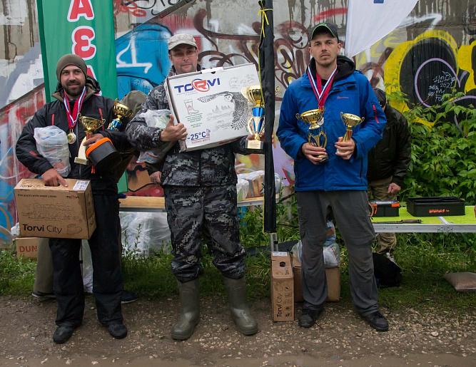 Подведены итоги Кубка Тульской области по ловле донной удочкой
