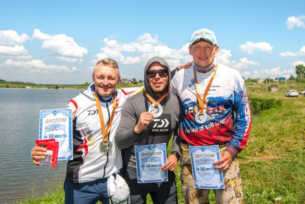 Спиннингисты провели чемпионат Новосибирской области