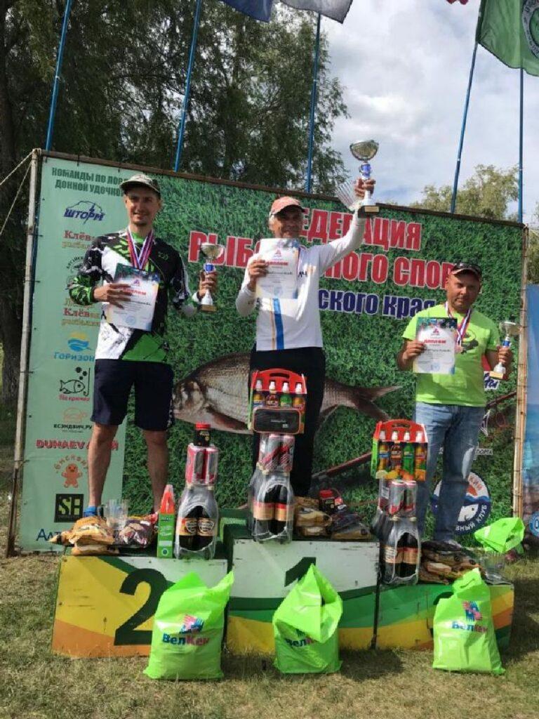 На Алтае прошел краевой чемпионат по ловле донной удочкой