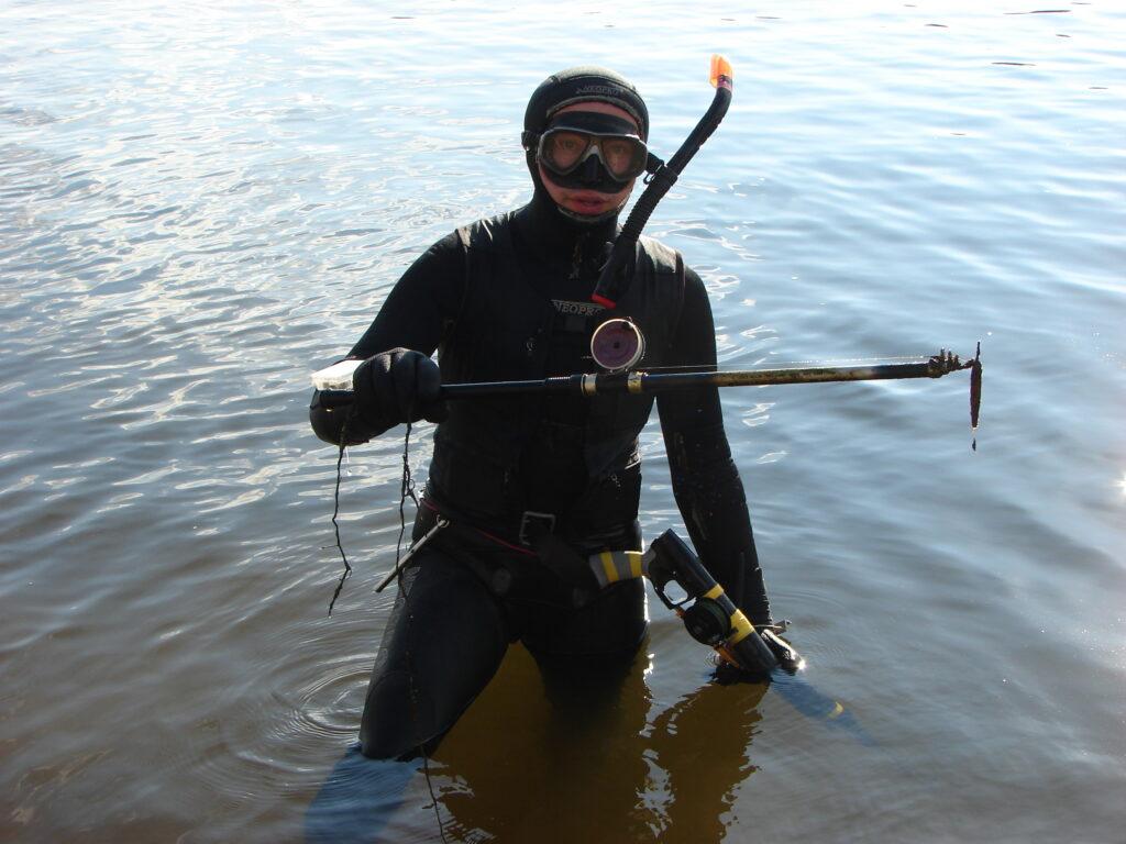 Что можно найти во время подводной охоты