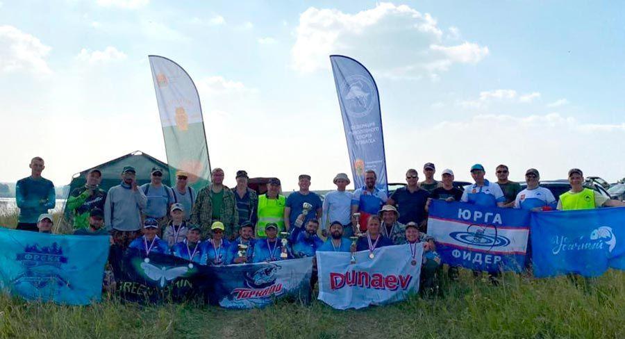 Чемпионат Кузбасса по ловле донкой провели на Шумихинском водохранилище
