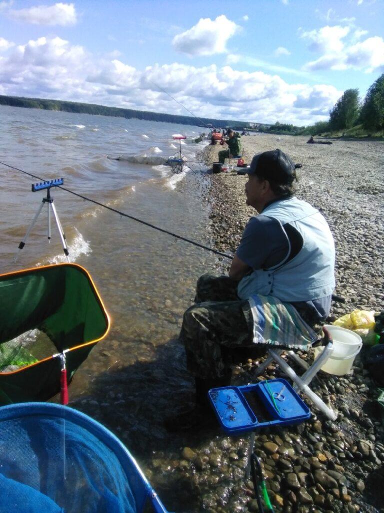 Чемпионат Пермского края по ловле донной удочкой прошел на реке Сылва