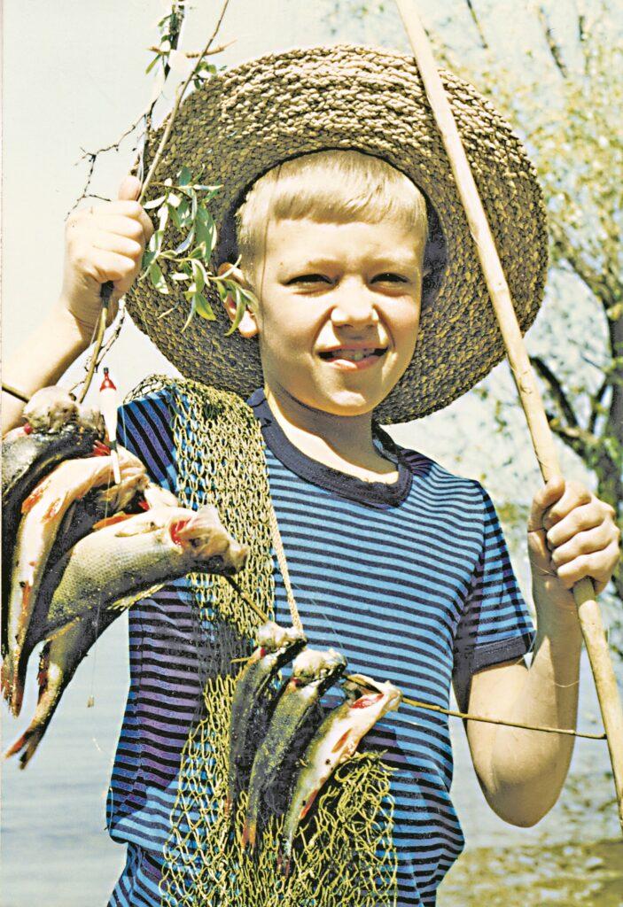 Внук рыбака
