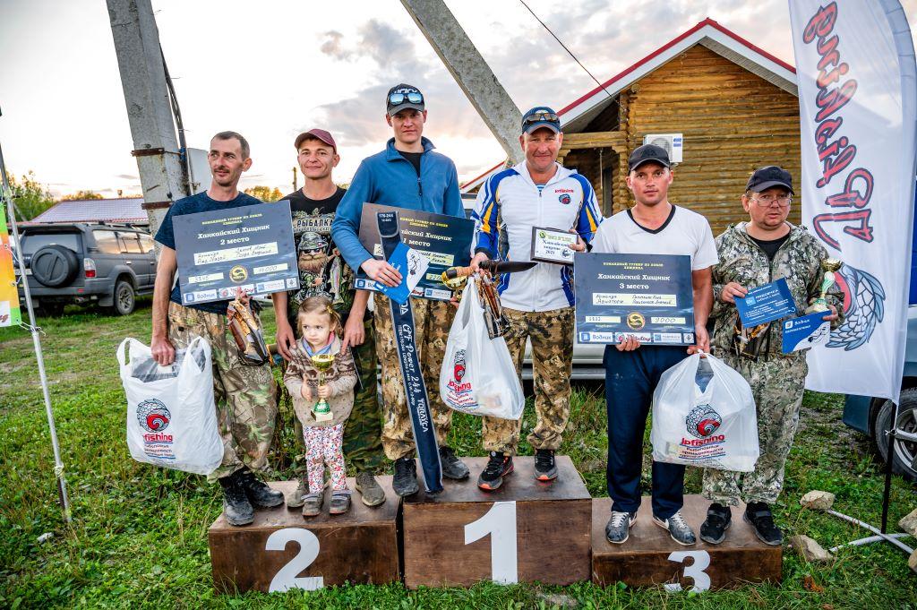 В Приморье прошел турнир спиннингистов «Ханкайский хищник-2021»