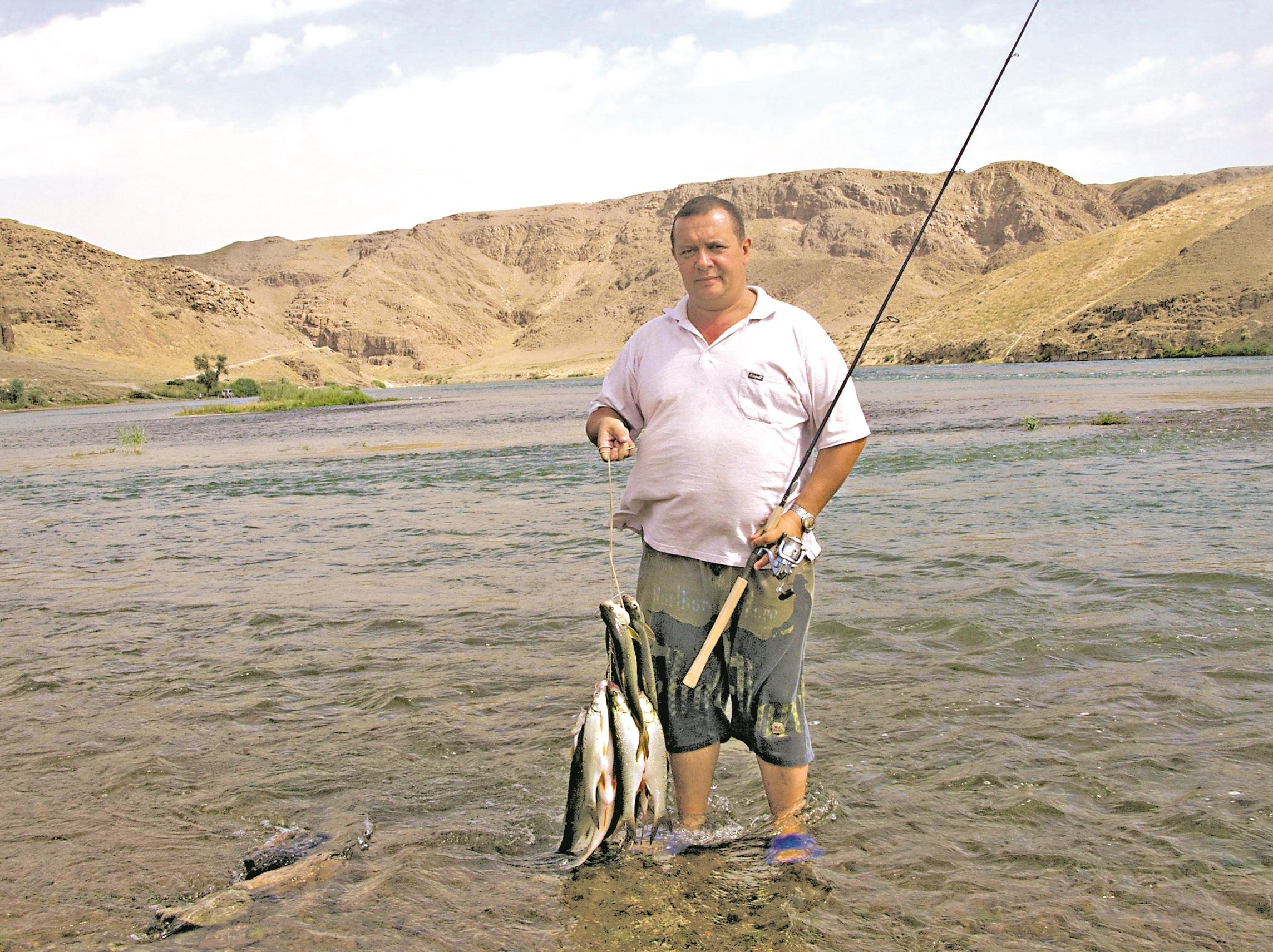 Рыбалка в Казахстане в 2007 году