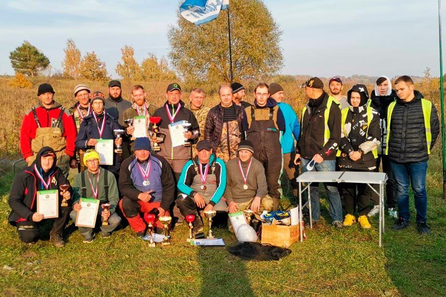В Калужской области прошли соревнования по ловле донкой
